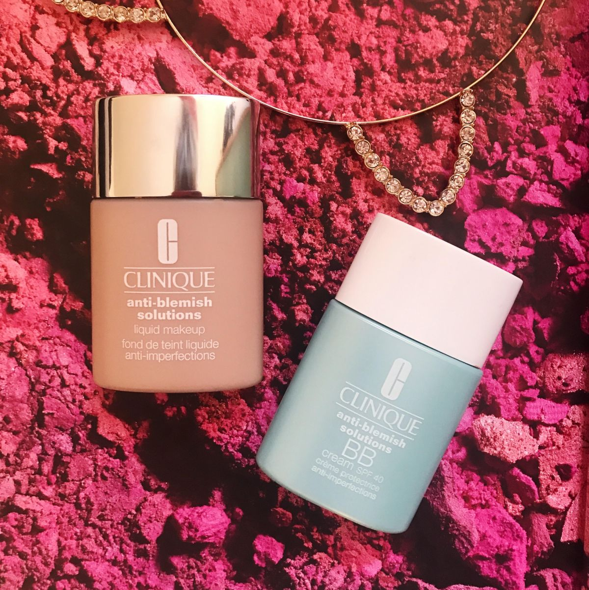 Recenzija: Clinique Anti-Blemish Solutions Liquid Makeup vs Clinique Anti-Blemish Solutions BB Cream